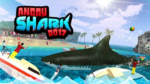Angry shark 2017: Simulator game Screenshot