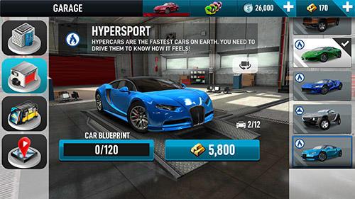 Rennspiele Real car driving experience: Racing game für das Smartphone