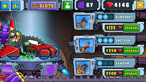 Arcade-Spiele Car eats car 2 für das Smartphone