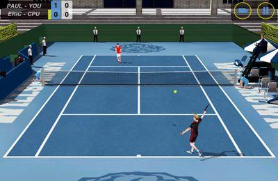 Multiplayerspiele: Lade Tennis: Collage Krieg auf dein Handy herunter