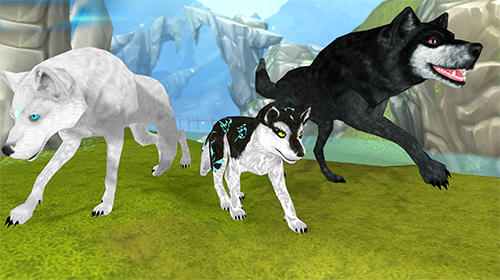 Simulation games Wolf: The evolution. Online RPG for smartphone