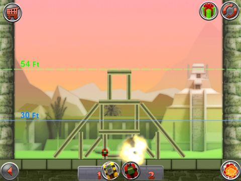 Screenshot Demolition master: Project implode all on iPhone