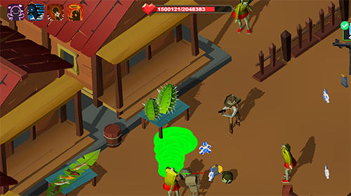 Deadland cowboy: Zombie bone killer pour Android