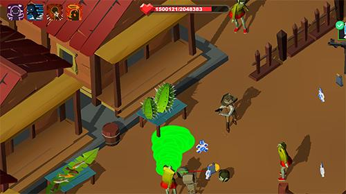 Deadland cowboy: Zombie bone killer für Android