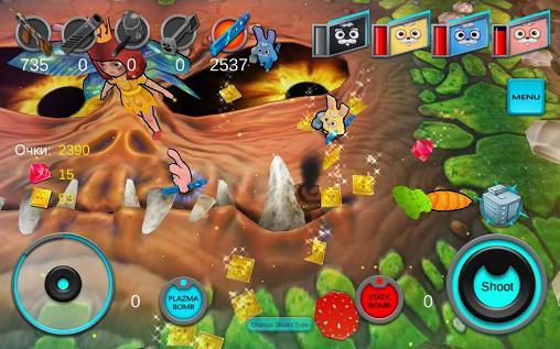 Arcade Zopa: Space island für das Smartphone