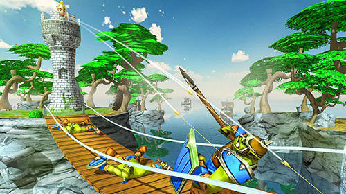 Tiny romans castle defense: Archery games für Android
