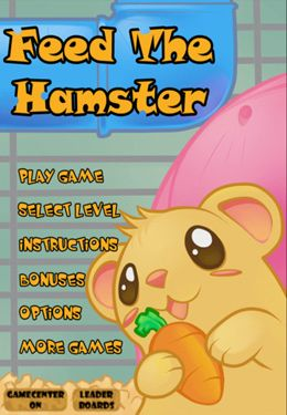 Screenshot Fütter den Hamster auf dem iPhone
