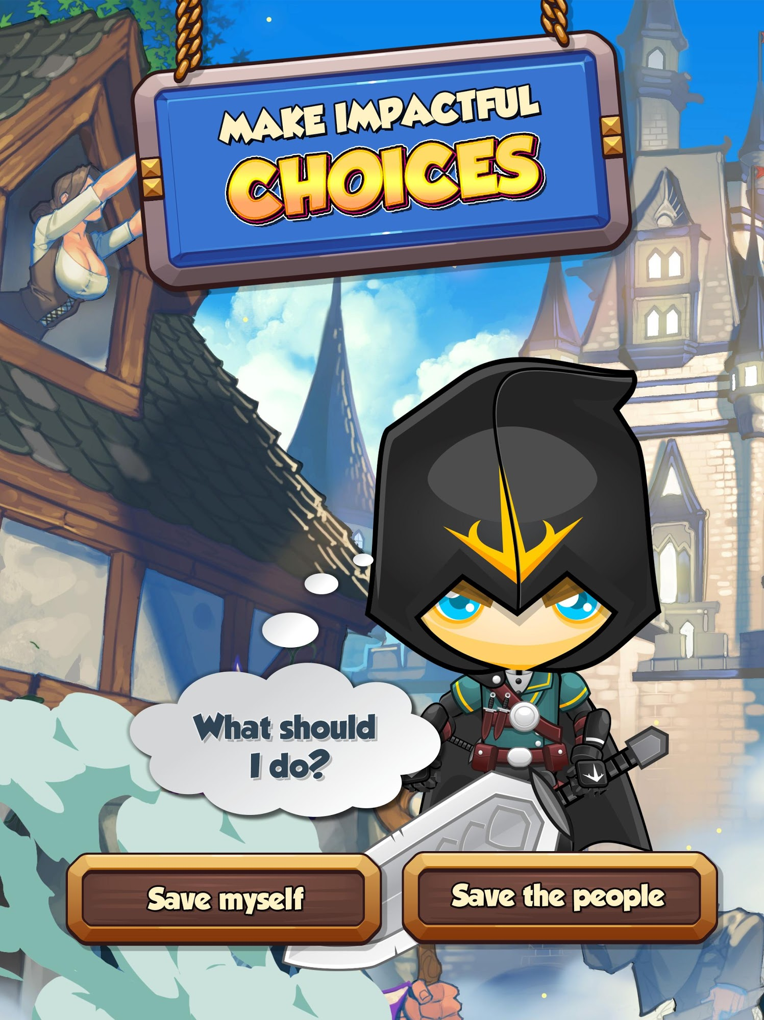 MAGIC III - Offline Choose Your Own Adventure RPG screenshot 1