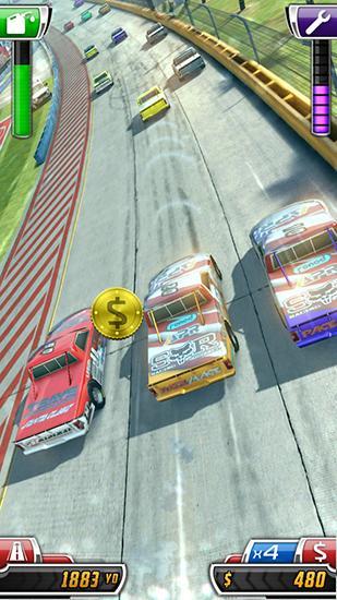 Rennspiele Daytona rush für das Smartphone