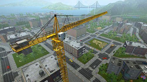 Captura de pantalla Simulador de construcción 2017 en iPhone