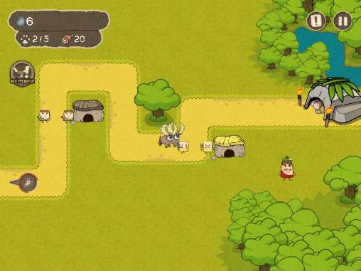 Save the cave: Tower defense Screenshot