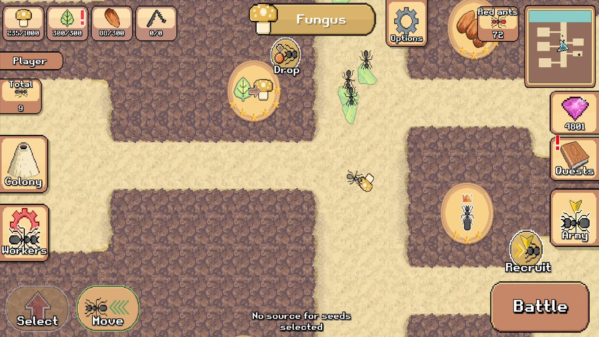 Pocket Ants: Colony Simulator скріншот 1