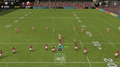 Rugby league 17 скриншот 1