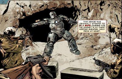 Screenshot MARVERL`S DIE RÄCHER: IRON MAN - MARK VII auf dem iPhone