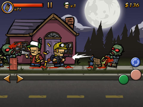 Screenshot Zombiestadt USA auf dem iPhone
