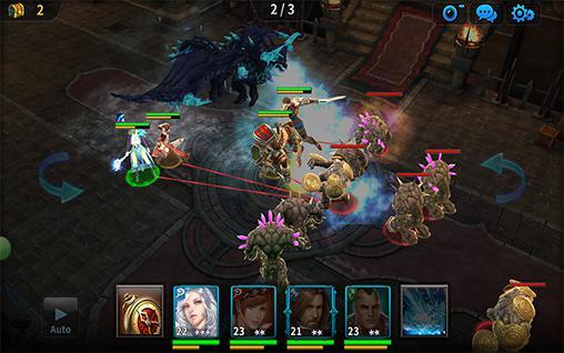 Strategie RPG Kingdom of war auf Deutsch