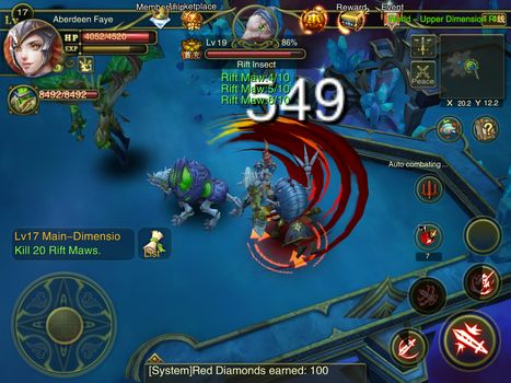 Dawn of the immortals para Android