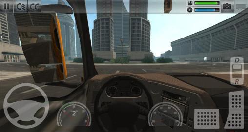 Simulador de caminhão: Cidade em portugues