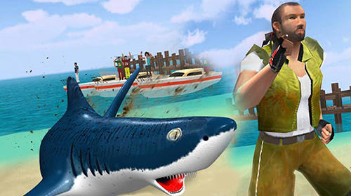 Angry shark 2017: Simulator game für Android