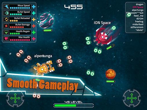 Shooter Ion space auf Deutsch