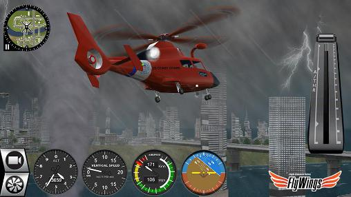 Helicopter simulator 2016. Flight simulator online: Fly wings para Android