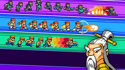 Arcade-Spiele Kung fu Z für das Smartphone