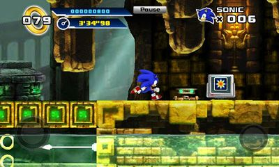 Arcade Sonic The Hedgehog 4. Episode 1 for smartphone
