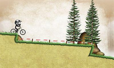 Stickman downhill скриншот 2