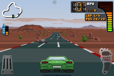 Screenshot 8 Bit Rally auf dem iPhone