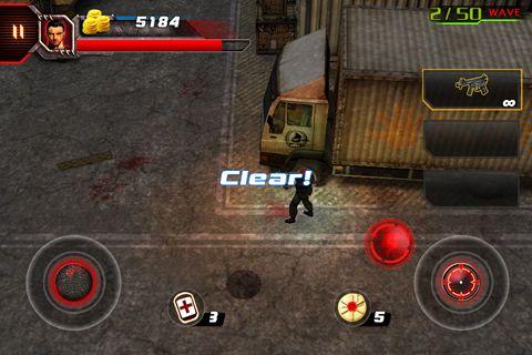 Screenshot 3D Zombie Krise 3 auf dem iPhone
