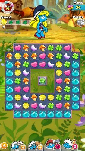 Smurfette's magic match für Android