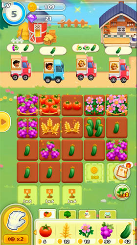 Happy merge: Dream farm для Android