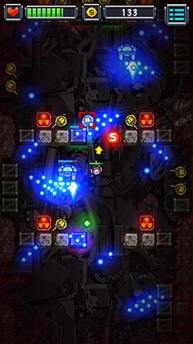 Actionspiele Blood bolt: Arcade shooter für das Smartphone