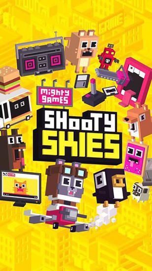 Shooty skies: Arcade flyer screenshot 1