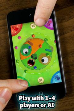 Marmorkugel Mixer für iPhone