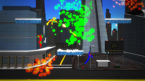 Stick man fight: Battle online. 3D game para Android
