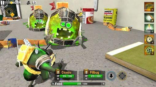RPG-Spiele Bug heroes 2 für das Smartphone