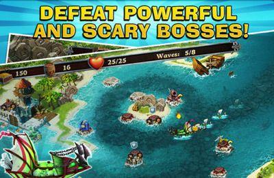 ストラテジー: 電話に 7つの海の砦防衛者をダウンロード