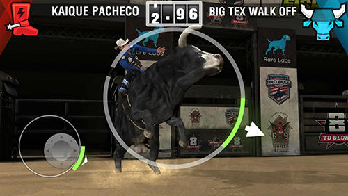 Arcade 8 to glory: Bull riding für das Smartphone