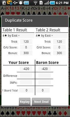 Bridge Baron скриншот 1