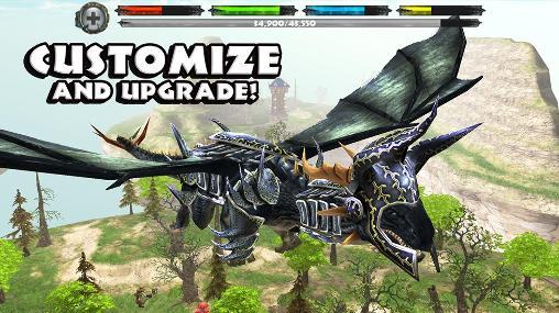 World of dragons: Simulator captura de tela 1