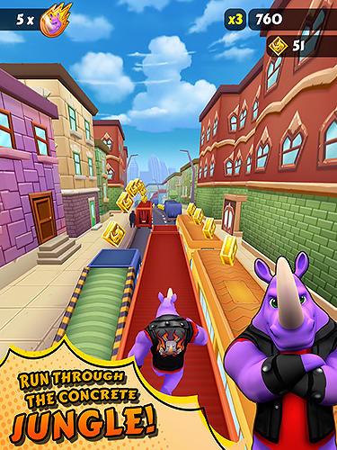 Arcade-Spiele Rhinbo für das Smartphone