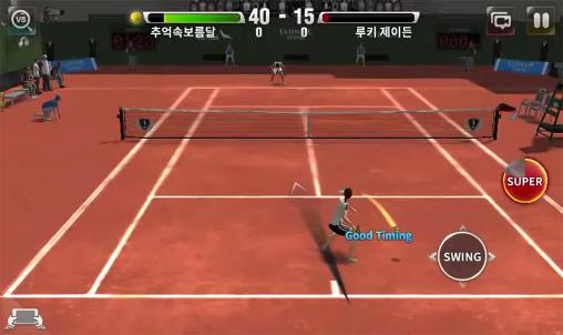 Ultimate tennis für Android