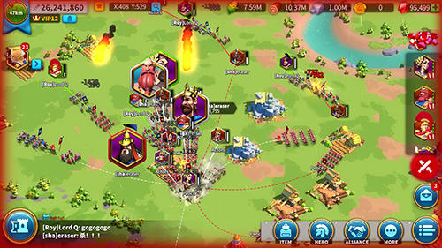 Rise of kingdoms: Lost crusade für Android