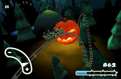 Гонки: скачать Haunted 3D Rollercoaster Rush на телефон