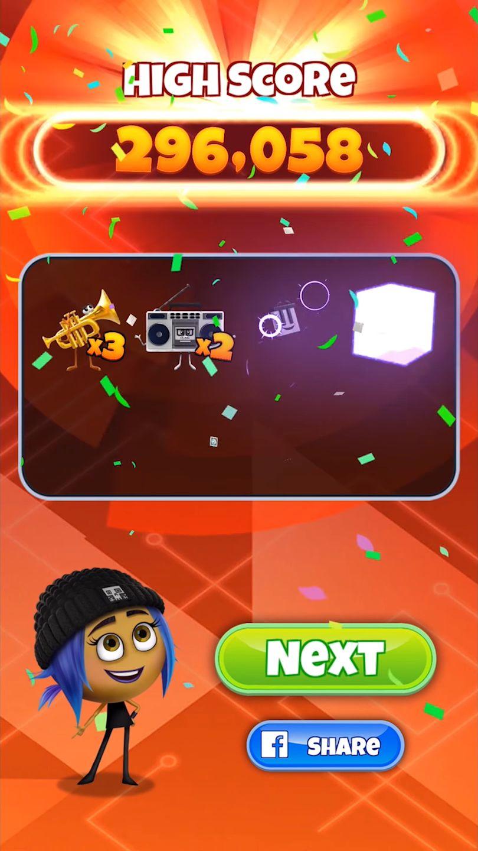 POP FRENZY! The Emoji Movie Game скриншот 1