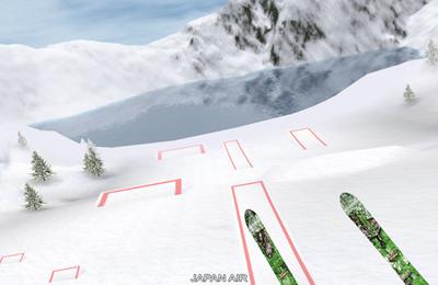 Sport Skifahren 3D auf Deutsch