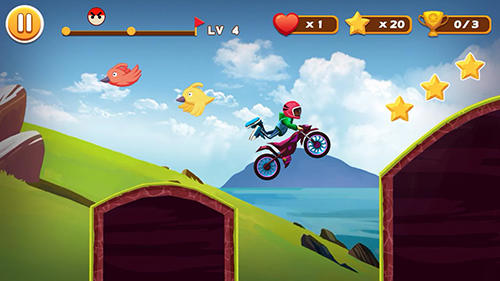 Stunt moto racing für Android