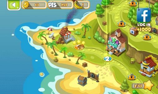 d'arcade Banana island: Bobo's epic tale pour smartphone