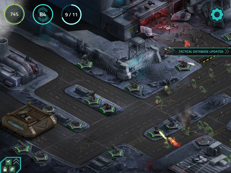 2112TD: Tower Defense Survival captura de tela 1